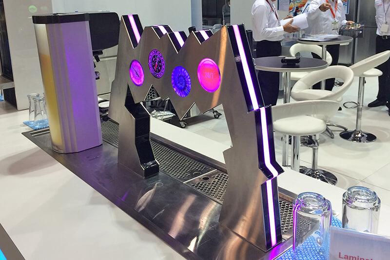 Backlit LED Drink Dispenser