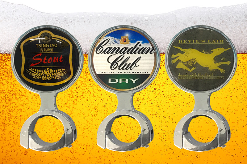 Beer Tap Decals
