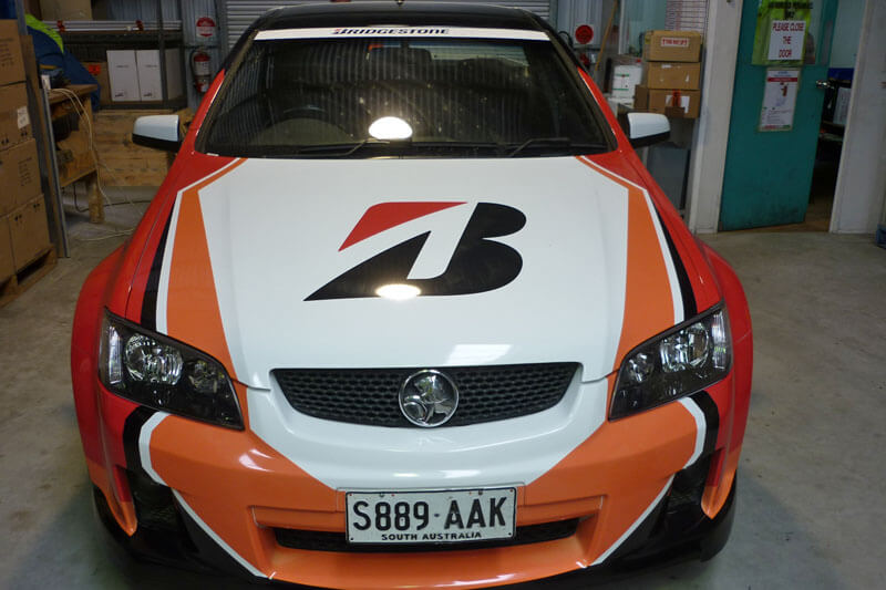 Bridgestone Car Graphics