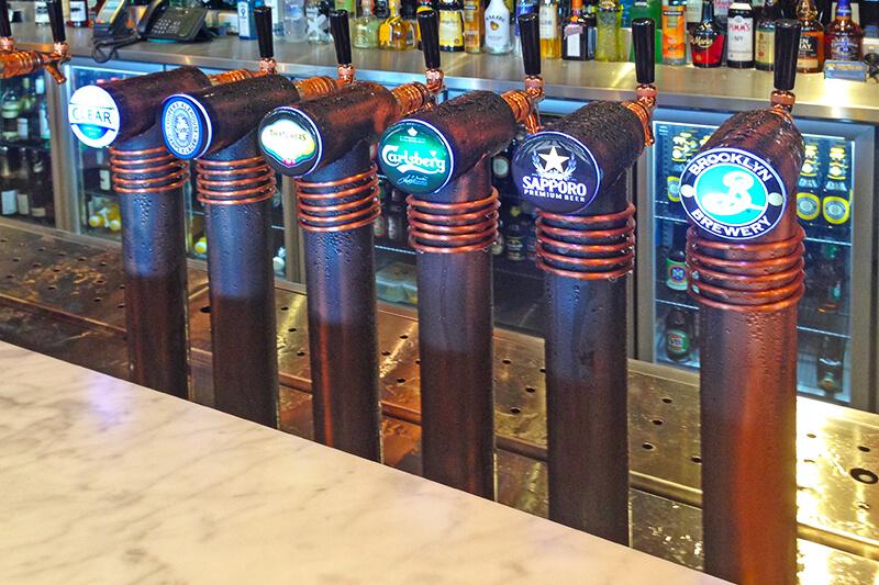 Coopers Bar Beer Taps
