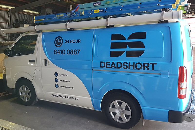 Deadshort Electrical Vehicle Graphics