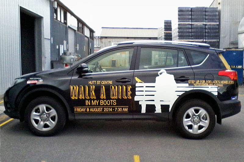 Hutt Street Centre Car Graphics