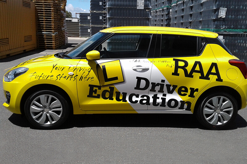 RAA Car Wrap