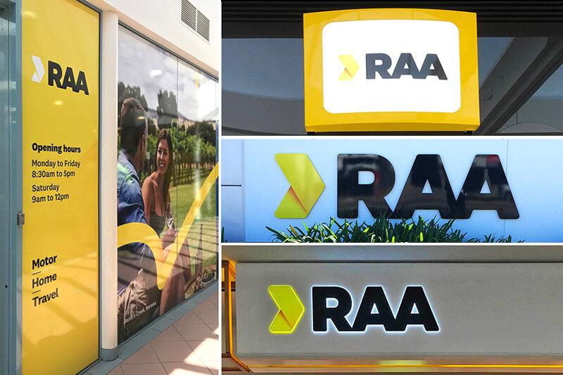 RAA Signage