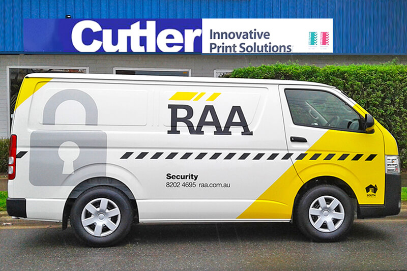 RAA Vehicle Wrap